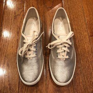 6bd0dc7df38 Keds Shoes - Size 6.5 Lurex Champagne Keds